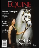 Equine Journal Article photo of Denise's book