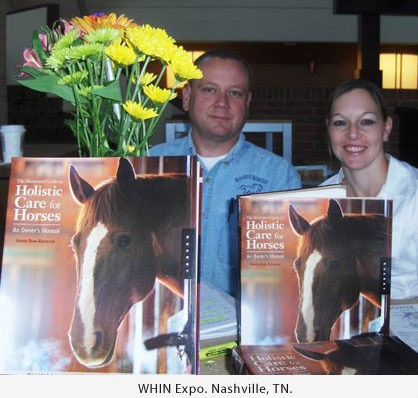 Denise Bean-Raymond  at Women's Horse Industry Global Network where she received an award