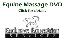 View details and buy equine massage DVD