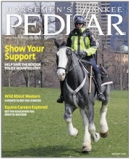 The Horsemens Yankee Pedlar - magazine cover - a book review on the Illustrated Guide to Holistic Care for Horses was published in The Horsemens Yankee Pedlar